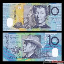 AUSTRALIE - Billet de 10 DOLLARS 2012 / 2015 - Polymer