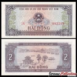 VIETNAM - Billet de 2 Dong - 1980
