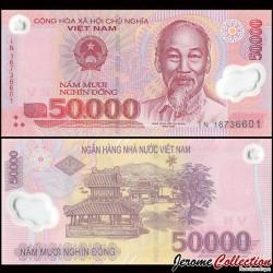 VIETNAM - Billet de 50000 Dong - Polymer - 2016