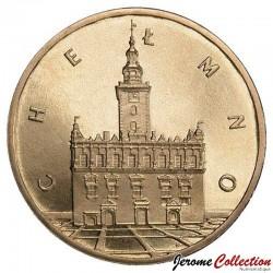 POLOGNE - PIECE de 2 ZLOTE - Villes de Pologne: Chełmno - 2006
