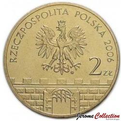 POLOGNE - PIECE de 2 ZLOTE - Villes de Pologne : Chełmno - 2006