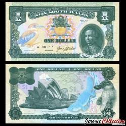 NEW SOUTH WALES / AUSTRALIE - Billet de 1 DOLLAR - 2017 NSW1-2017