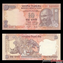 INDE - Billet de 5 Roupies - Mahatma Gandhi - 2007