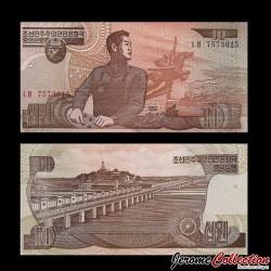 C0REE DU NORD - Billet de 10 Won - 1998