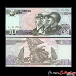 C0REE DU NORD - Billet de 10 Won - 2002