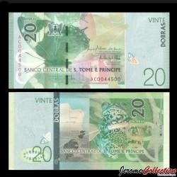 SAO TOMÉ-ET-PRINCIPE - Billet de 20 Dobras - 26.10.2016
