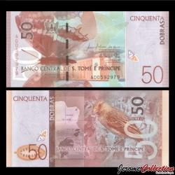 SAO TOMÉ-ET-PRINCIPE - Billet de 50 Dobras - 26.10.2016 P73a