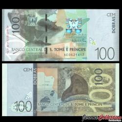SAO TOMÉ-ET-PRINCIPE - Billet de 100 Dobras - 26.10.2016