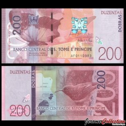 SAO TOMÉ-ET-PRINCIPE - Billet de 200 Dobras - 26.10.2016 P75a