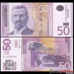 SERBIE - Billet de 50 Dinara - 2005 - Stevan Stojanović Mokranjac P40a
