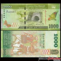 SRI LANKA - Billet de 1000 Roupies - 2010