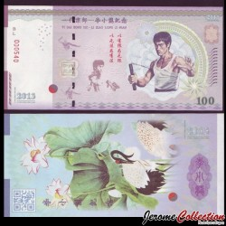 CHINE - Billet de 100 Yuan - Bruce Lee - 2013