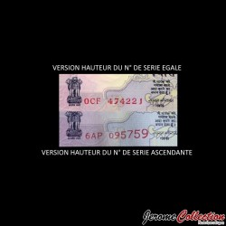 INDE - Billet de 50 Roupies - Mahatma Gandhi - 2015 - Lettre R