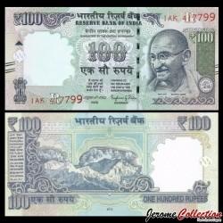INDE - Billet de 100 Roupies - Mahatma Gandhi - 2015