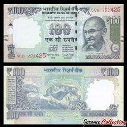 INDE - Billet de 100 Roupies - Mahatma Gandhi - 2017
