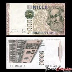 ITALIE - Billet de 1000 Lire - Marco Polo - 1982