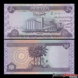 IRAK - Billet de 50 Dinars - 2003
