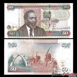 KENYA - Billet de 50 Shilingi / Shillings - 16.07.2010