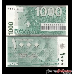 LIBAN - Billet de 1000 Livres - 2004 P84a