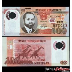MOZAMBIQUE - Billet de 100 Meticais - Polymer - 2011 P151a