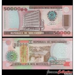 MOZAMBIQUE - Billet de 50000 Meticais - 16.06.1993