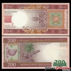MAURITANIE - Billet de 200 Ouguiya - 28.11.2013