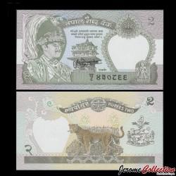 NEPAL - Billet de 2 Roupies - 1981 / 2001