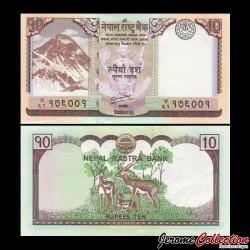 NEPAL - Billet de 10 Roupies - 2012 P70a