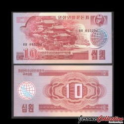 C0REE DU NORD - Billet de 10 Won - 1988