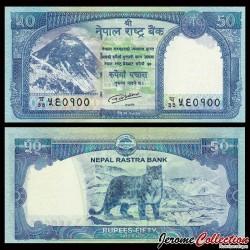 NEPAL - Billet de 50 Roupies - 2015