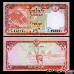 NEPAL - Billet de 20 Roupies - 2012