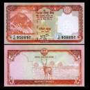 NEPAL - Billet de 20 Roupies - Cerf Sambar - 2012