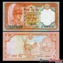 NEPAL - Billet de 20 Roupies - 1988 / 2001 P38b