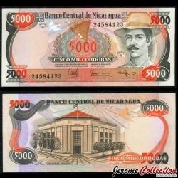 NICARAGUA - Billet de 5000 Córdobas - 11.06.1985