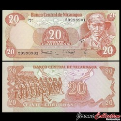 NICARAGUA - Billet de 20 Córdobas - 16.08.1979