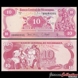 NICARAGUA - Billet de 10 Córdobas - 16.08.1979