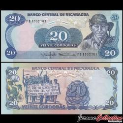NICARAGUA - Billet de 20 Córdobas - 1985