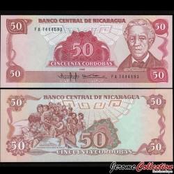 NICARAGUA - Billet de 50 Córdobas - 1985