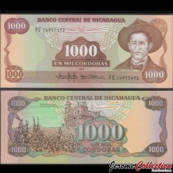 NICARAGUA - Billet de 1000 Córdobas - 1985 (1990)