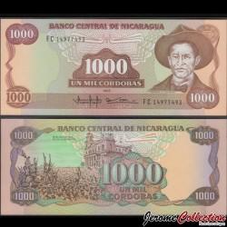NICARAGUA - Billet de 1000 Córdobas - 1985 (1990) P156b