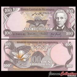 NICARAGUA - Billet de 100 Córdobas - 06.08.1984
