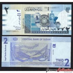SOUDAN - BILLET de 2 Livres Soudanaise - 2006