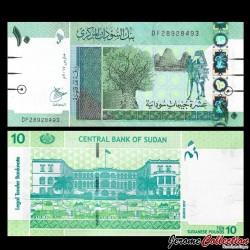 SOUDAN - BILLET de 10 Livres Soudanaise - 2017 P73c
