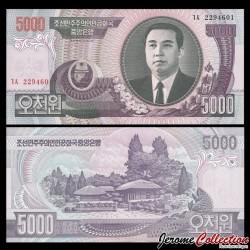 COREE DU NORD - Billet de 5000 Won - 2006