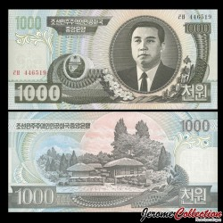 COREE DU NORD - Billet de 1000 Won - 2006