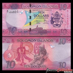 SALOMON (ILES) - Billet de 10 DOLLARS - 2017