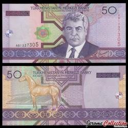 TURKMENISTAN - Billet de 50 Manat - 2005