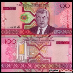 TURKMENISTAN - Billet de 100 Manat - 2005