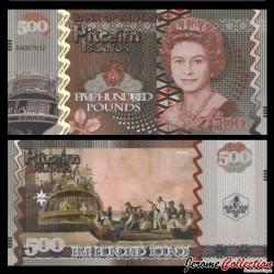 PITCAIRN - Billet de 500 Pounds - Bateau le Bounty - 2017