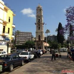 LIBYE - Billet de 5 Dinars - Tour de l'horloge ottomane - 2015